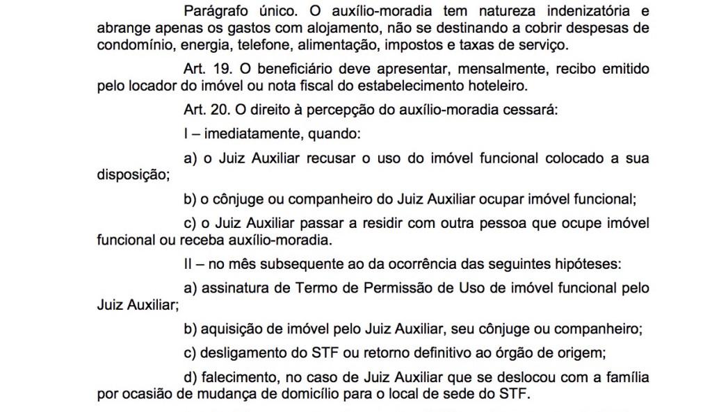 Resolução 413/2009 do STF: a verdadeira fonte do auxílio-moradia no país atualmente